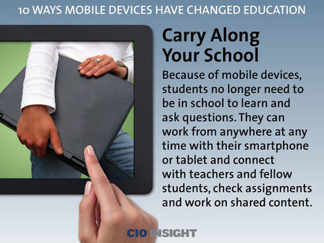 10 Ways Mobile Devices Have Changed Education | Educational Discourse | Scoop.it