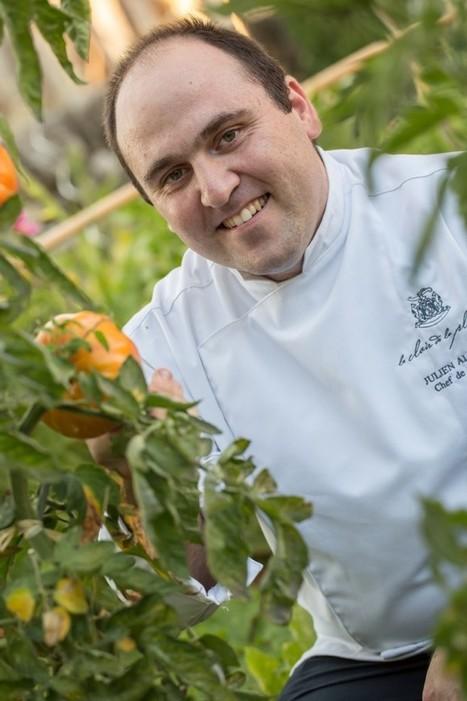 Julien Allano – Le Clair de Plume à Grignan (26)  « Je suis en quête permanente de la pureté gustative… »   Actualité du monde de la gastronomie   Scoop.it