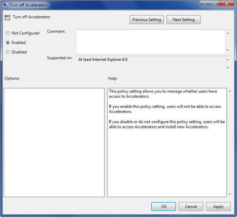 Customize and Configure Internet Explorer Using Group Policy Editor | Time to Learn | Scoop.it