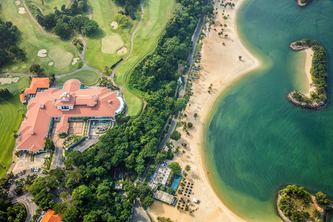 Must-see aerials of Singapore's luxurious landscapes and architecture | Innovative & Sustainable Building | Scoop.it