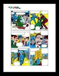 "Jack Kirby Strange Tales #149 Rare Production Art Pg 10 | Jack ""King"" Kirby 