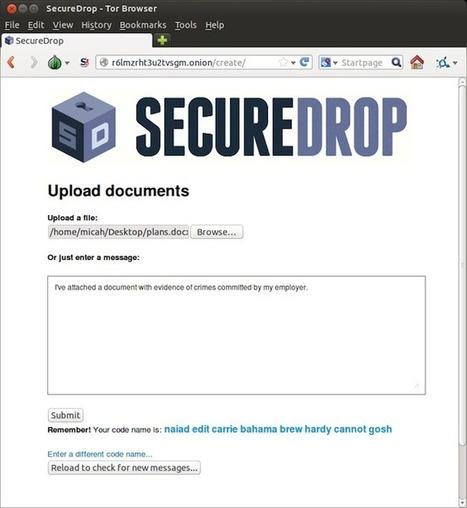 SecureDrop - Le dernier projet d'Aaron Swartz voit enfin le jour - Korben   tous les CMS   Scoop.it