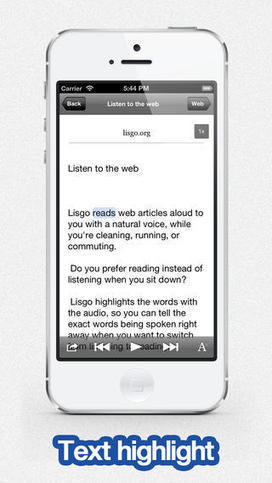 Lisgo, la App que lee tu lista de Pocket   Reviews iPhone iPad accesorios   Scoop.it