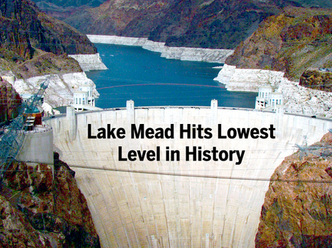 Drought Drains Lake Mead to Lowest Level | Geography Education | Scoop.it