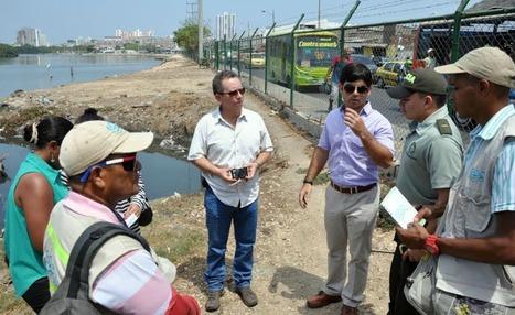 Distrito y autoridades realizan seguimiento al proceso de recuperación de la Ciénaga de las Quintas | Cartagena de Indias - 8º edición de boletín semanal | Scoop.it