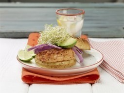 Recipe: California-Style Salmon Burgers - USA Weekend | American Food | Scoop.it