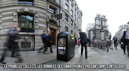 La poubelle voleuse de données mobiles | la NFC, ça vous gagne | Scoop.it