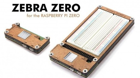 Zebra Zero for the new Raspberry Pi Zero! | C4Labs.build | WEBTRONICO | Scoop.it