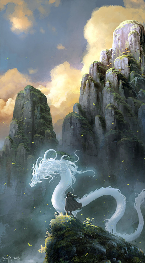The Art Of Animation, ChaoyuanXu | Concept art, Painting & Illustration | Scoop.it