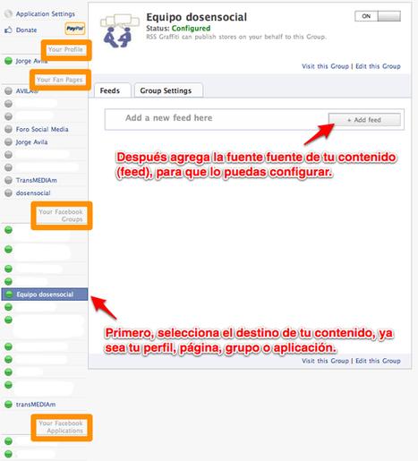 Cómo conectar twitter y tu Grupo de Facebook? | Escuela y Web 2.0. | Scoop.it