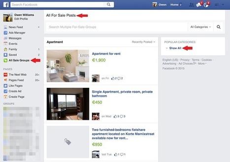 Facebook crée une page dédiée aux petites annonces | Outils CM, veille et SEO | Scoop.it