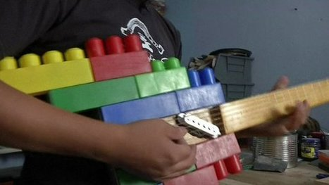 How a Mexican band makes music out of rubbish | Ecology news, upcycling & recycling | Scoop.it