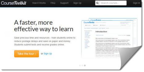 Course Toolkit, para crear y administrar cursos online   Entornos Personales de Aprendizaje   Scoop.it