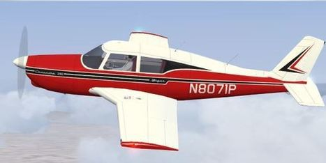 FS2004 – Piper PA-24 Comanche Classic Liveries | PerfectFlight | Scoop.it