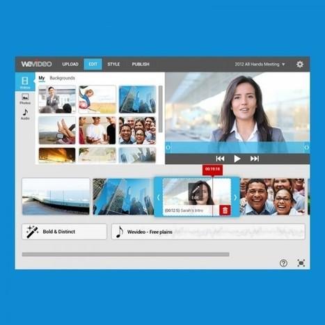 WeVideo, un editor de vídeo online para todos los públicos | Las TIC y la Educación | Scoop.it