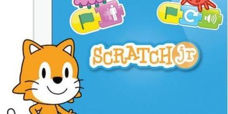 Avec ScratchJr, les enfants apprennent le codage informatique... avant de savoir lire | Veille TICE - Ecole Numérique | Scoop.it