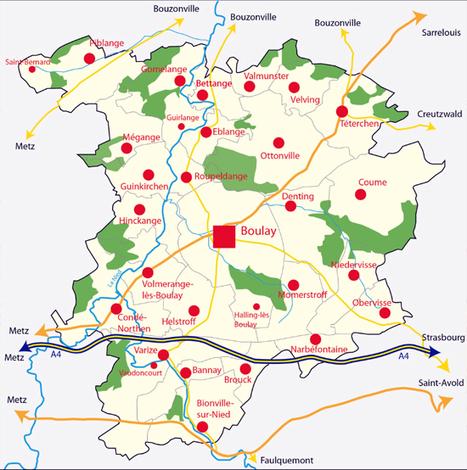 Bienvenue à la Communauté de communes du Pays Boulageois! | Actualité du centre de documentation de l'AGURAM | Scoop.it