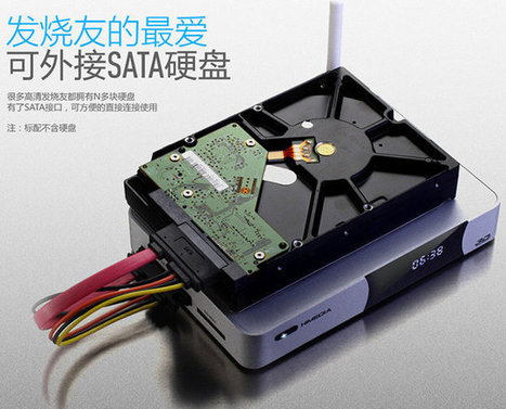 HiMedia Q5 Quad Core is an Android TV Box based on HiSilicon Hi3798C SoC with SATA, USB 3.0, 4K Support | Embedded Systems News | Scoop.it