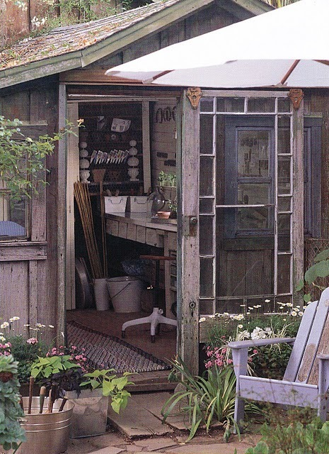 A Room For Everyone Beautiful Potting Sheds a