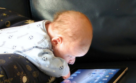 Baby doesn't need tech to learn | Social Media Classroom | Scoop.it