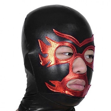 Red Open Eyes Open Nose and Mouse Hood Costume|Black and Red Shiny Metallic Hood Costume|Black and Red Open Eyes Open Nose and Mouse Shiny Metallic Hood Cosplay Costume | Zentai Suits Cosplay | Scoop.it