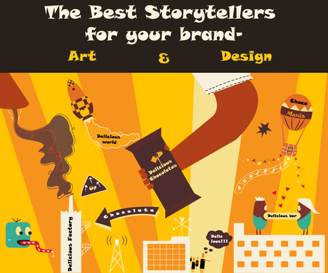 Art and Design will be your best story tellers | Tricon Infotech Pvt Ltd | Information Technology | Scoop.it