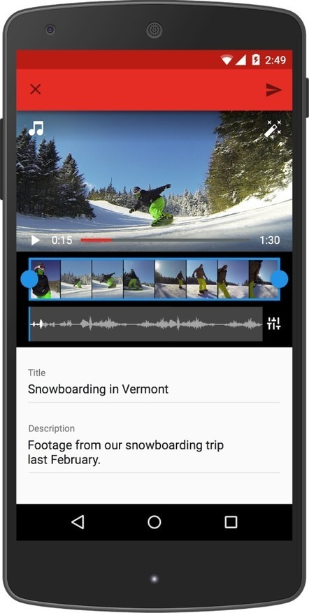 YouTube mobile app gets a facelift with three new tabs | Techie, Geekery, and Gurus | Scoop.it