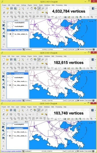 QGIS Compared: GIS Analysis - DirectionsMag.com | Geomatics | Scoop.it