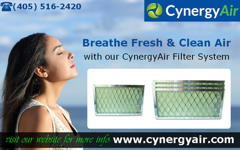 HVAC & Indoor Air Filters For Air Conditione | CynergyAir | Scoop.it