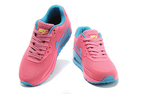 Nike Air Max 90 EM Womens Pink Blue UK Discount   SHARES   Scoop.it