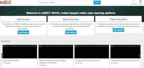 AISECT launches online course platform with 750 courses   Learning with MOOCs   Scoop.it