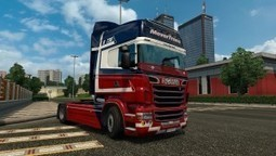 Mover Trans Skin for Scania RJL | ETS2 | Scoop.it