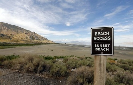 Thanks to Humans, the Great Salt Lake Is Drying Up | Geography Education | Scoop.it