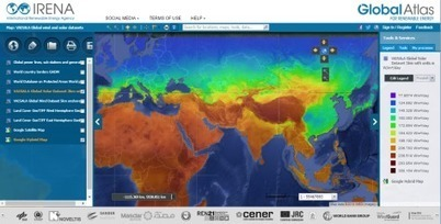 IRENA Offers New Downloadable Wind and Solar Maps on Global Atlas | Technology and the Environment | Scoop.it