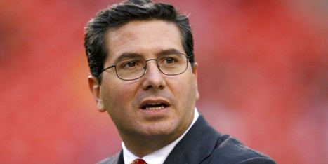 Redskins' Kike Owner Refuses To Change Team's Offensive Name | The Weird, Strange and Bizarre | Scoop.it