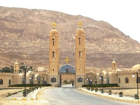 Monastery of Saint Anthony | Explore Egypt Travel | Scoop.it
