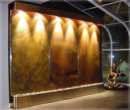 Exalted Fountains | How A Water Feature Can Affect Our Mood | The Beauty Of Indoor Wall Fountains | Scoop.it