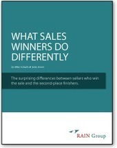 Free Report: What Sales Winners Do Differently | In the world of Sales | Scoop.it