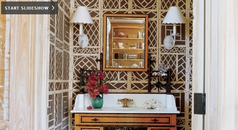 Powder Rooms With Pizzazz | All About Bathroom Remodel | Scoop.it