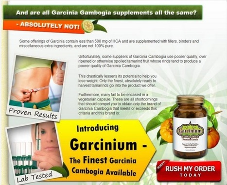 Interested In Garcinium? Don't BUY! Read This First!!! | Plexus Slim Reviews | Scoop.it