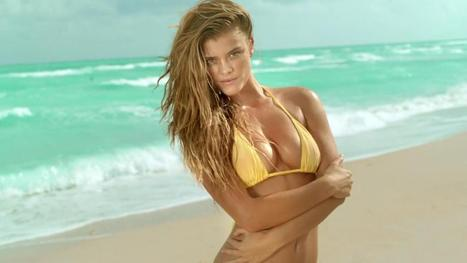 34 Behind The Scenes Photos from Nina Agdal's Cerveza Cristal ... | new models | Scoop.it