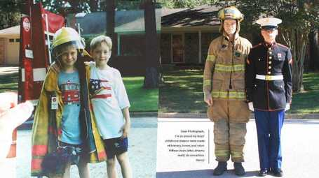 The Huffington Post: Brothers' Before And After Photos Taken 15 Years Apart | Dear Photograph | Scoop.it