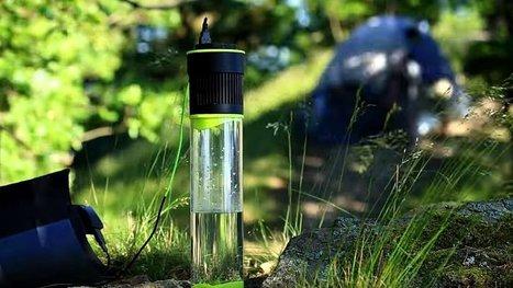 Cette bouteille se remplit d'eau toute seule… grâce à l'énergie du soleil ! | LOW TECH Réparer & détourner - nouvelle source d'innovations | Scoop.it