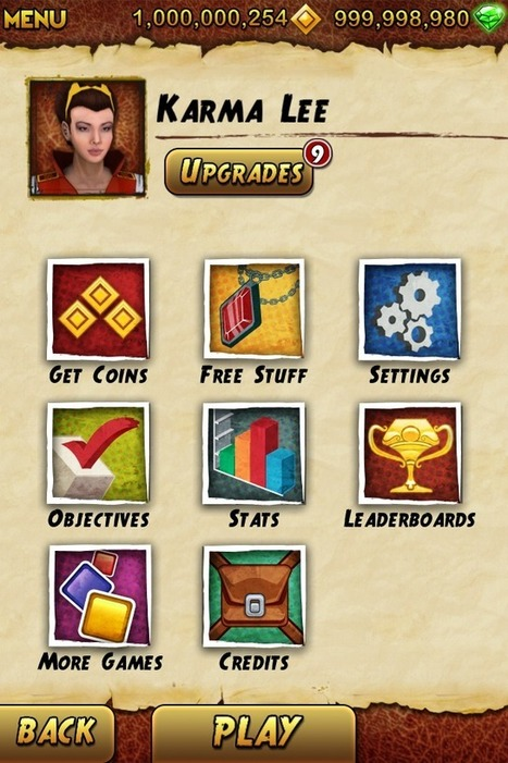 Temple Run 2 Cheat To Get Unlimited Coins [No Jailbreak Required] | iTechbook | Scoop.it