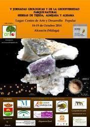 Programación y cartel de las V Jornadas Geológicas del Parque Natural Sierras de Tejeda, Almijara y Alhama | Cosas de mi Tierra | Scoop.it