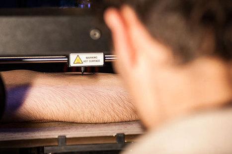 Tatouages à l'imprimante 3D : un avenir radieux dans nombre de ... - Humanoides.fr   Univers du web   Scoop.it