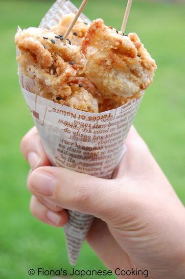Fiona's Japanese Cooking: Japanese street food - chicken karaage | Japanese cooking make you heathly | Scoop.it