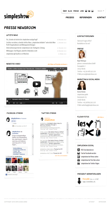 simpleshow Presse Newsroom | Social Media Newsrooms | Scoop.it