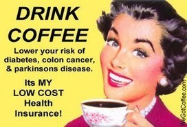 Coffee, the Low Cost Health Insurance Plan | Coffee | Scoop.it