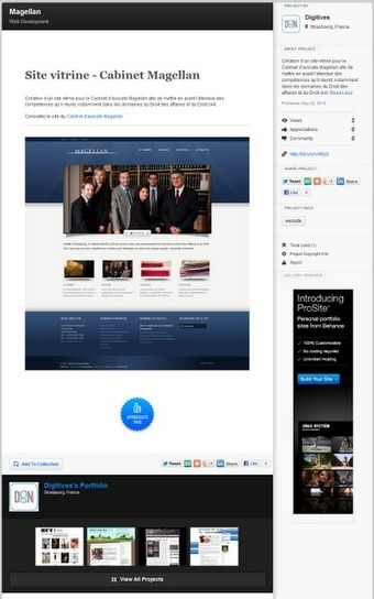 Créatifs, réalisez votre portfolio en ligne avec Behance   Time to Learn   Scoop.it